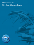 2014 Board Survey Report
