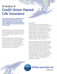 Credit Union Owned Life Insurance