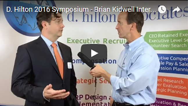 Brian Kidwell talks evolution of incentive plans